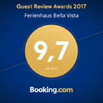 Guest Review Award 2017 - Ferienhaus Bella Vista
